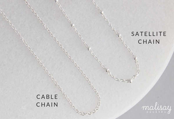 four sided swivel + chain