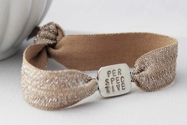 word stretch bracelet
