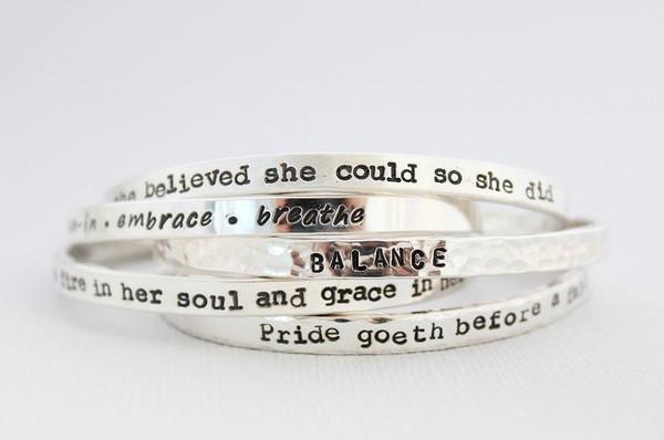 premium cuff bracelet • silver or gold