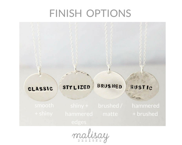 Finish options