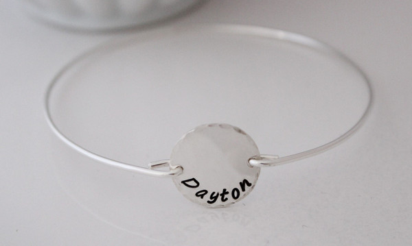 bangle • personalized round