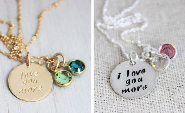 love you more + birthstones
