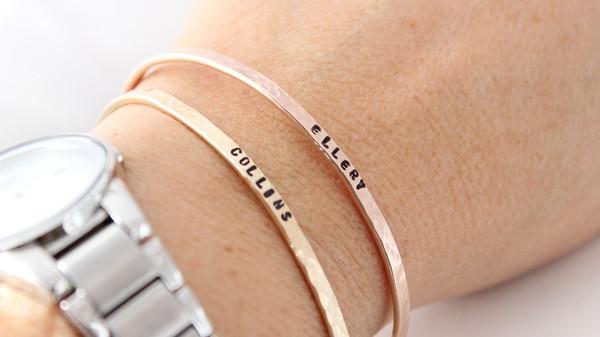 cuff bracelet • 3mm wide