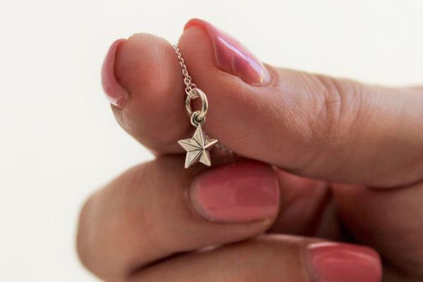 petite charm necklace