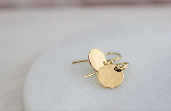 Charity • French Hook Earrings | gold or silver