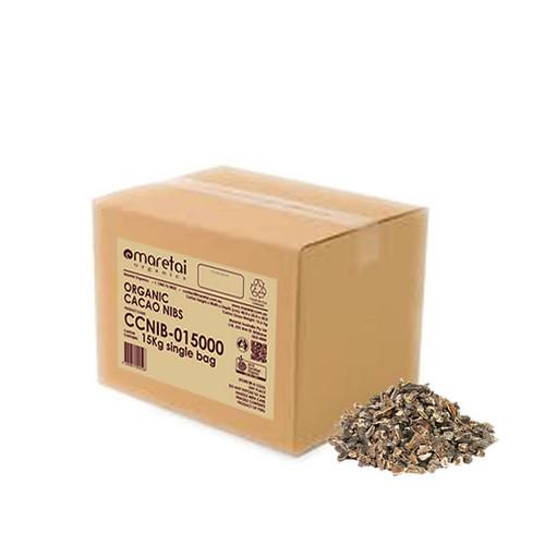 Maretai - Bulk Organic Cacao Nibs / Cocoa Nibs - 15 kg