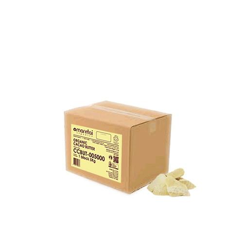 Maretai - Bulk Organic Cacao Butter / Cocoa Butter - 5 kg