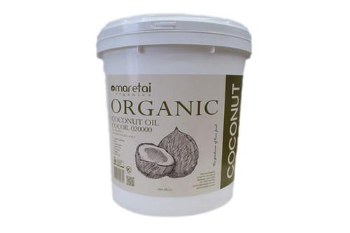 Maretai - Bulk Organic Virgin Coconut Oil Undeodorized - Pail 18 L