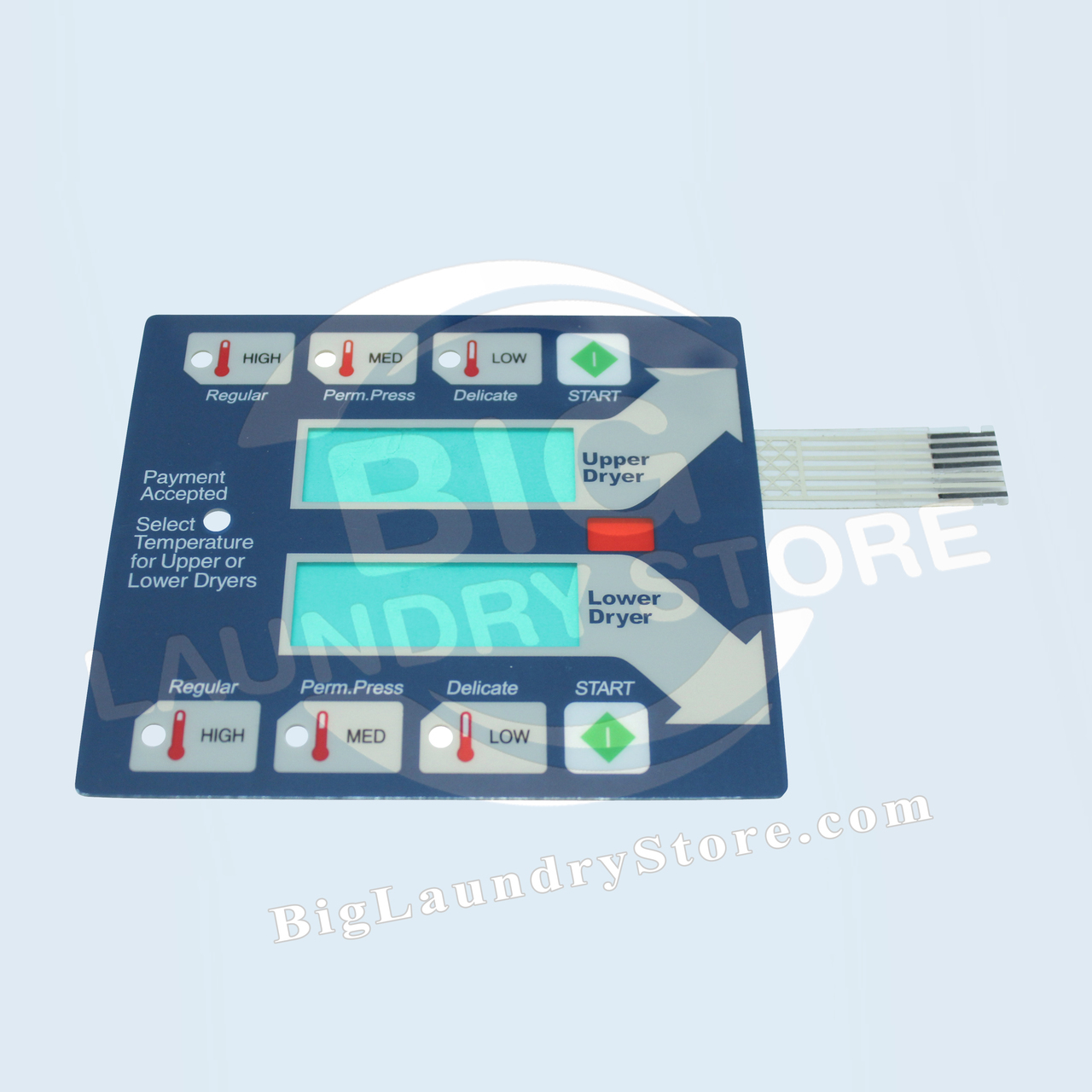 Computer Touchpad - Top - Dexter # 9801-059-006