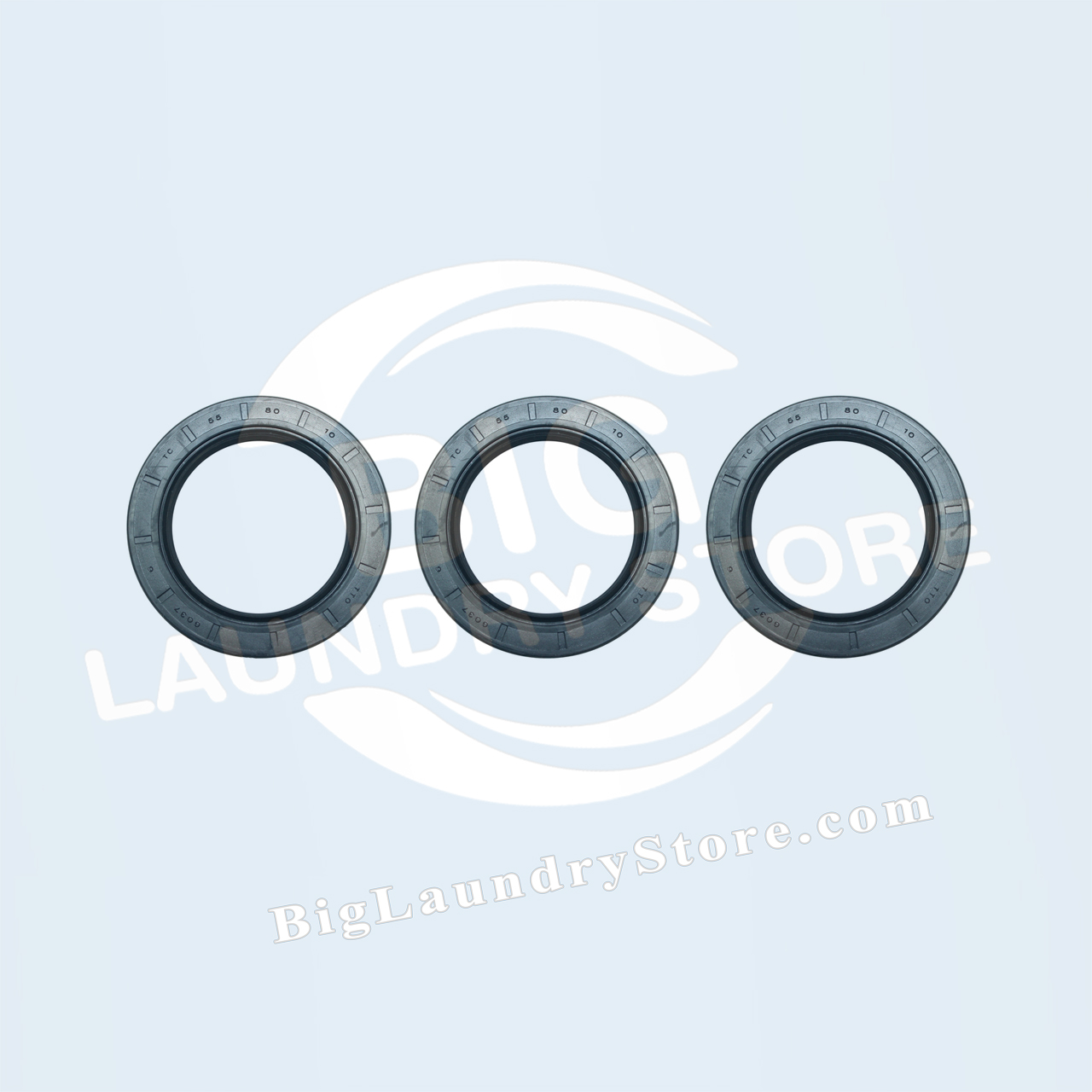 Three (3) 55-80-10 Seals for Wascomat W74 or W124 - Wascomat # 990217S, 990218S