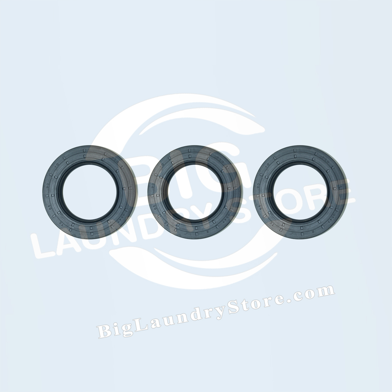 Three (3) 55-90-10 Seals for Wascomat W75 (Early) - Wascomat # 990207S