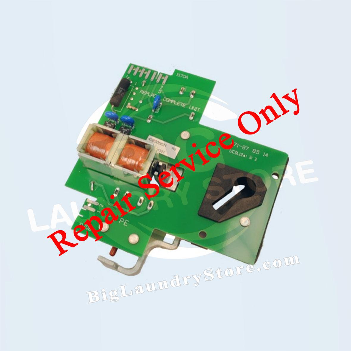 REPAIR - Wascomat Generation 5 220V Door Lock # 305632, 878514 Repair