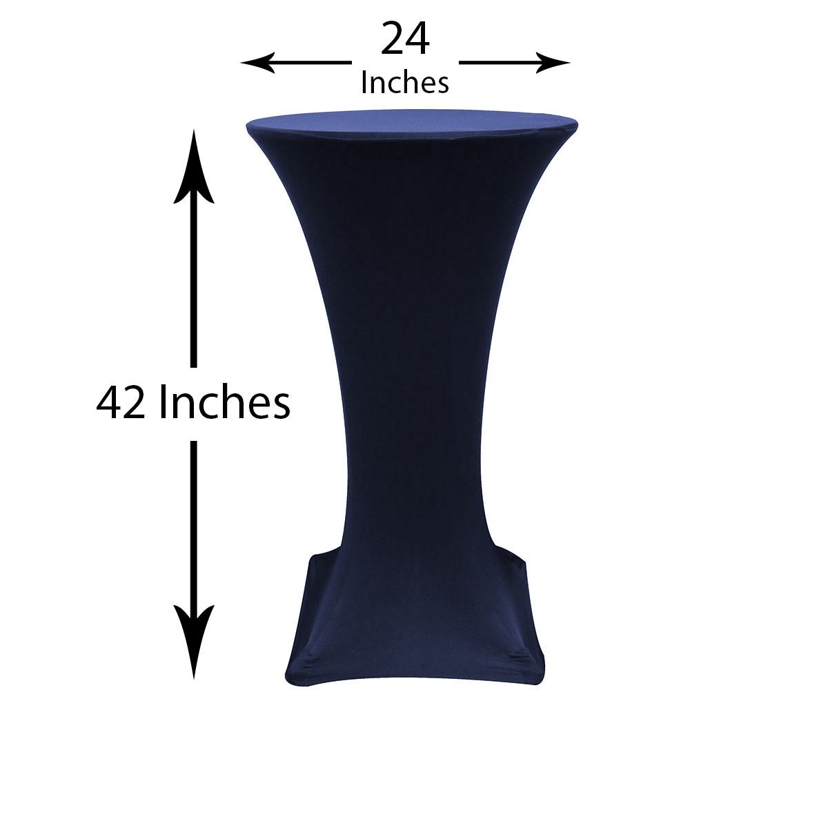24-inch-highboy-cocktail-spandex-table-covers-navy-dimensions.jpg