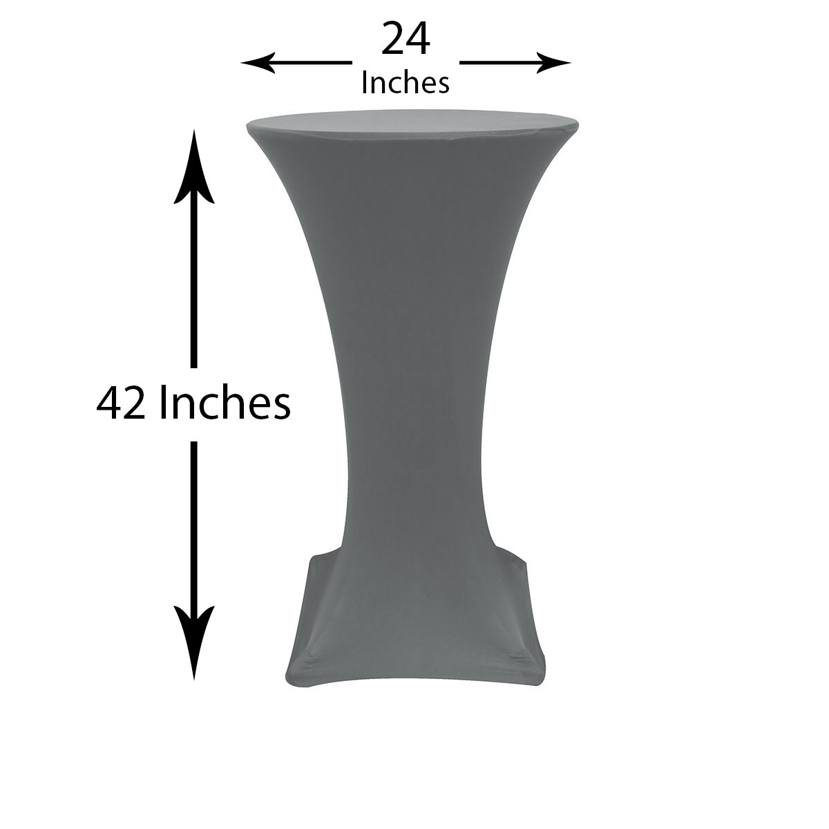 24-inch-highboy-cocktail-spandex-table-covers-silver-dimensions.jpg