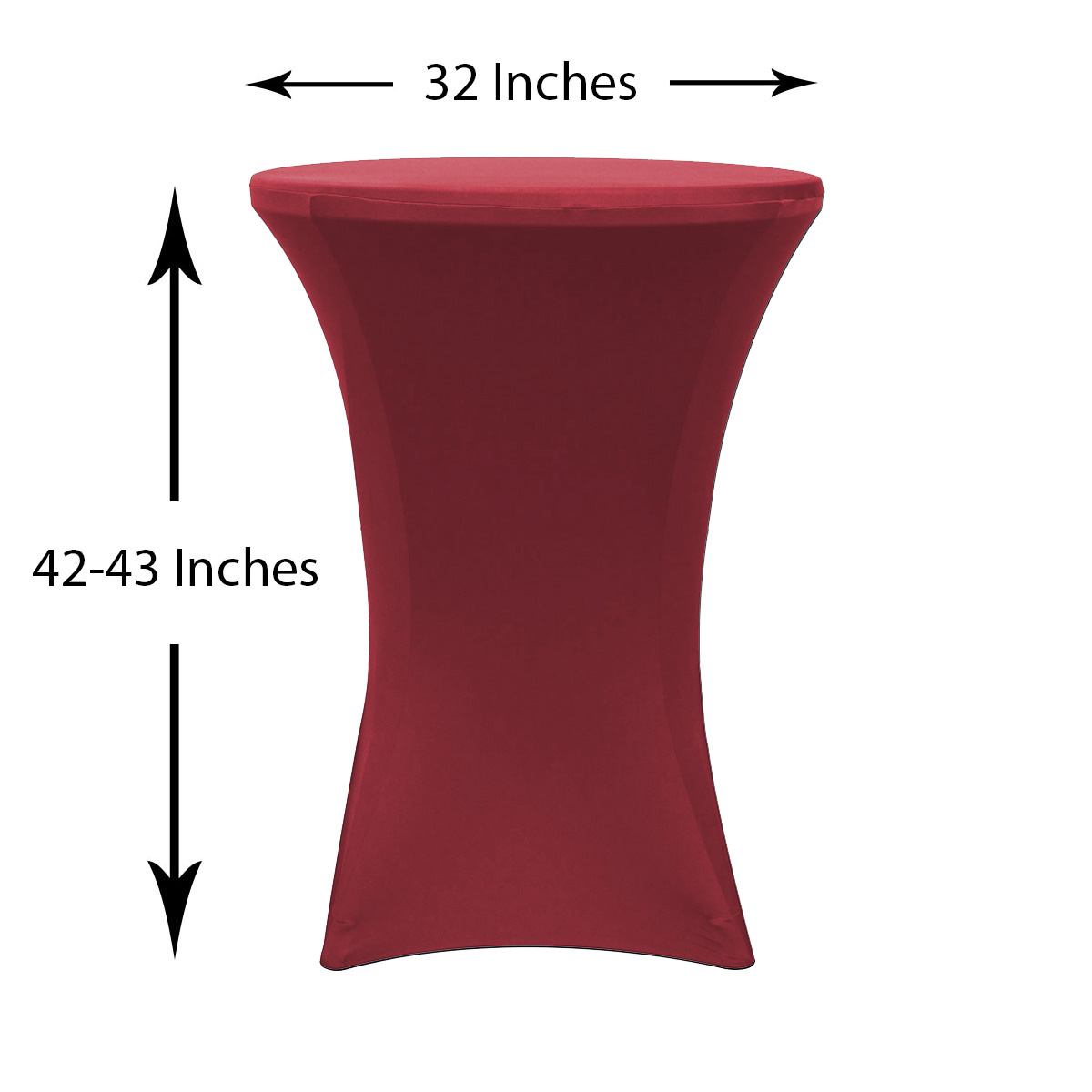 32-inch-highboy-cocktail-spandex-table-covers-burgundy-dimensions.jpg