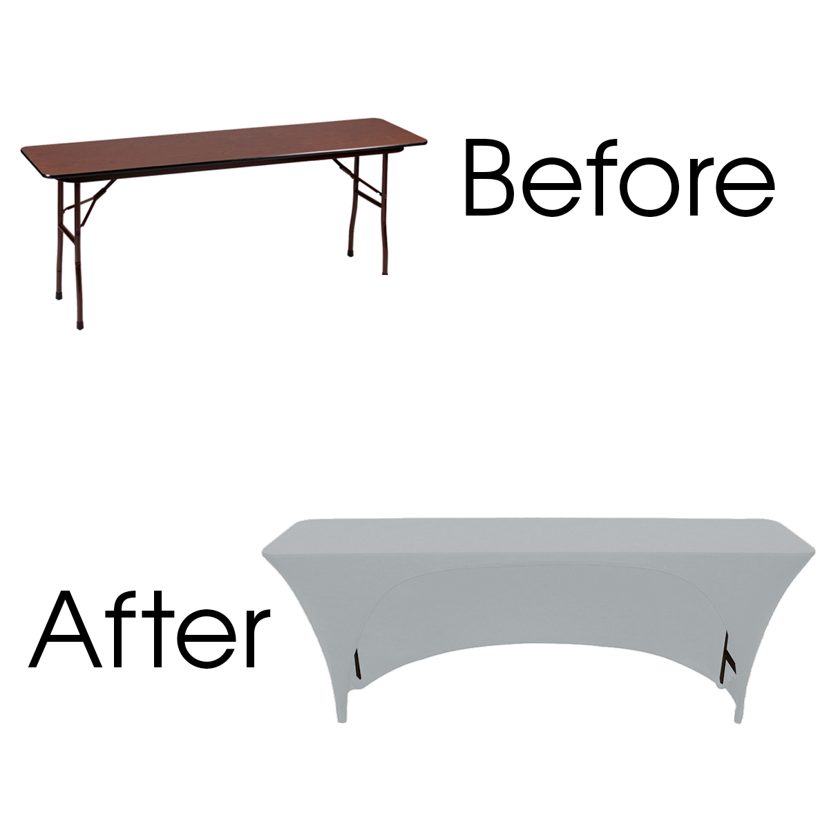 stretch-spandex-6ft-18-inches-open-back-rectangular-table-covers-Silver-before-after.jpg