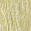 132 Inch Round Crinkle Taffeta Tablecloth Desert Grass/Champagne (CLEARANCE)