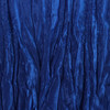 Royal Blue Crinkle Swatch