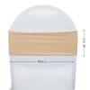 Spandex Chair Sashes Peach measurements