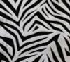 zebra damask swatch