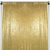 full glitz gold drape