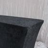 Velvet Spandex 6 Ft Rectangular Table Cover Black
