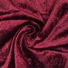 Velvet Spandex Folding Chair Cover Burgundy