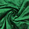 Velvet Spandex Folding Chair Cover Emerald Green