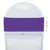 Spandex Chair Sashes Purple measurements