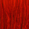 120 Inch Round Crinkle Taffeta Tablecloth Red