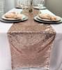 14 x 108 Inch Glitz Sequin Table Runner Blush