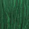 Hunter Green Crinkle Swatch
