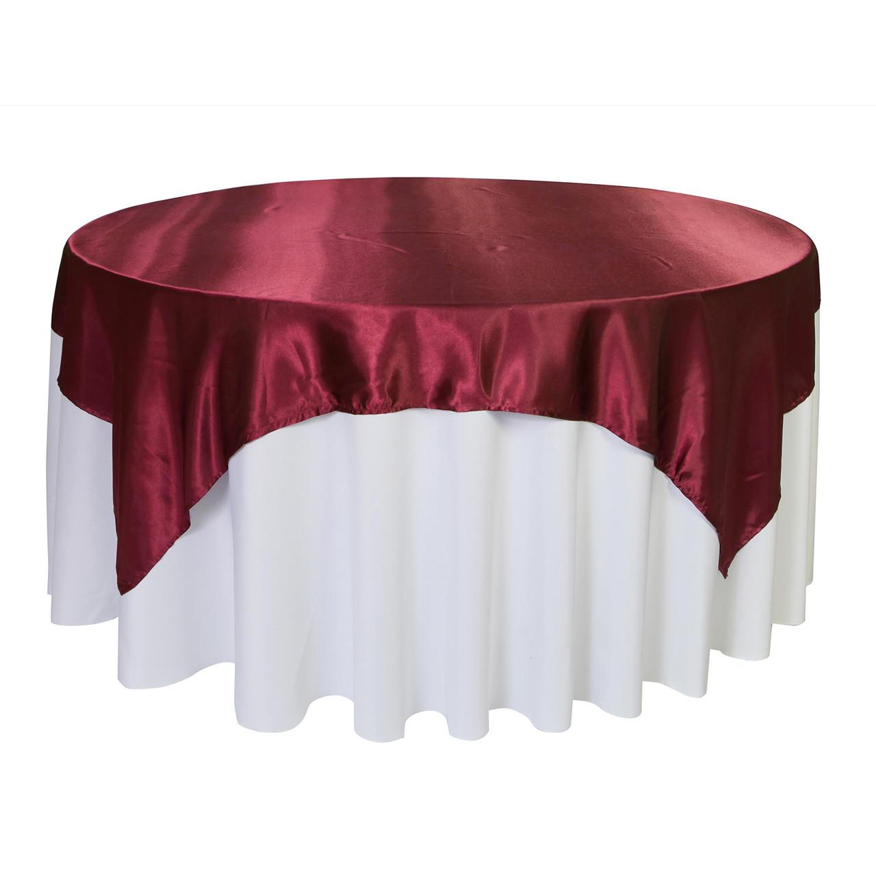 Enjoyable 72 Inch Square Satin Table Overlay Burgundy Forskolin Free Trial Chair Design Images Forskolin Free Trialorg