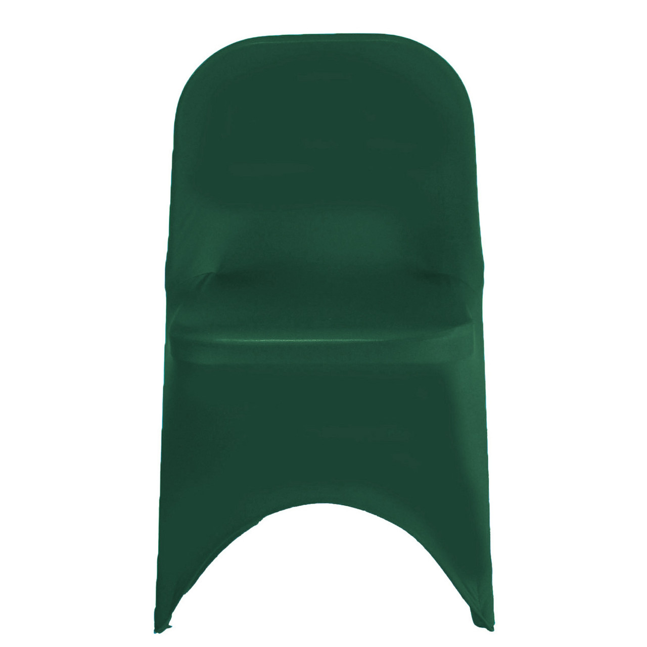 Astounding Stretch Spandex Folding Chair Cover Hunter Green Inzonedesignstudio Interior Chair Design Inzonedesignstudiocom