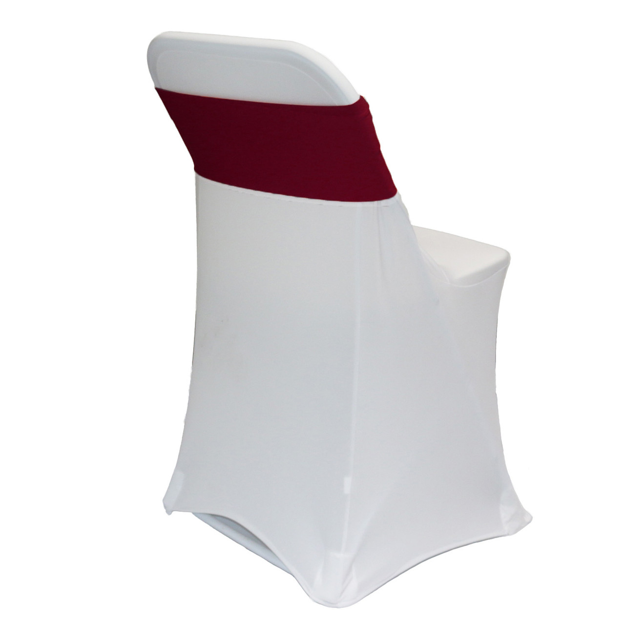 Pleasant 10 Pack Stretch Spandex Bands Burgundy Caraccident5 Cool Chair Designs And Ideas Caraccident5Info