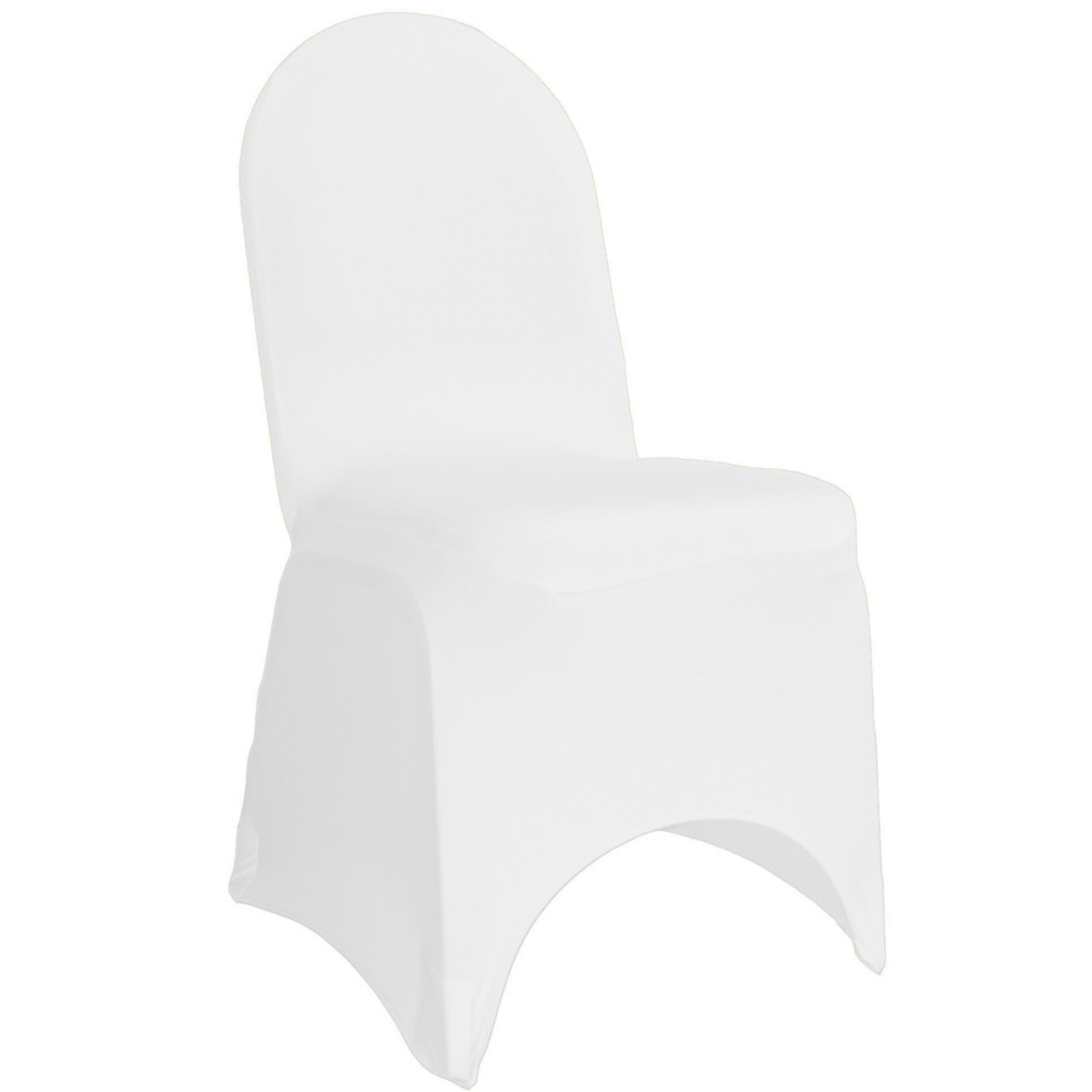 Outstanding Stretch Spandex Banquet Chair Cover White Pabps2019 Chair Design Images Pabps2019Com