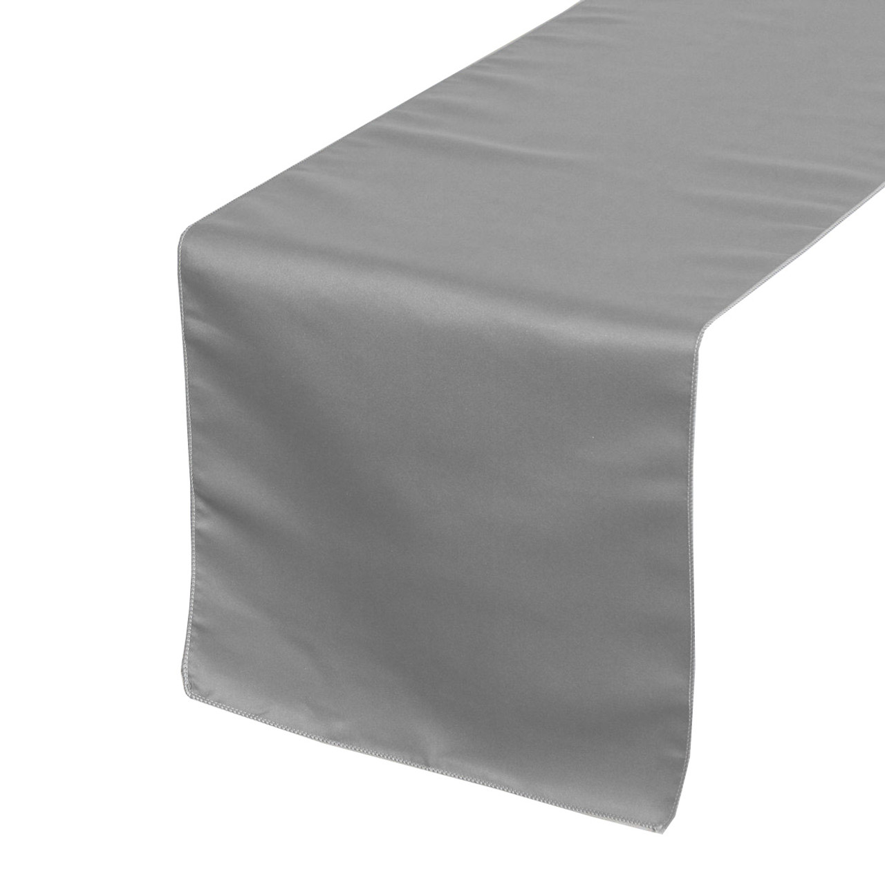 c30894156be1e Dark Silver Table Runners, Lamour Table Runners for Weddings and Events ...