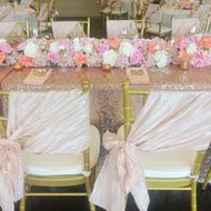 PHOTOS - Beautiful Blush and Sequin Bridal Shower by VAR Events