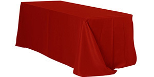 90 x 156 inch Rectangular Polyester Tablecloths