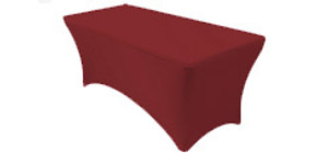 8 ft Rectangular Stretch Spandex Table Covers