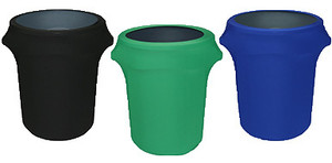 Spandex Trash Can Covers