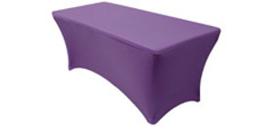 6 ft Rectangular Stretch Spandex Table Covers