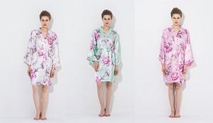 Kimono Silk Bridesmaid Robes