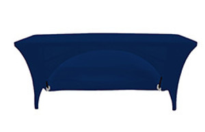 Rectangular Open Back Spandex Table Covers