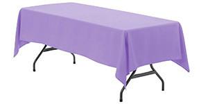 60 x 102 inch Rectangular Polyester Tablecloths