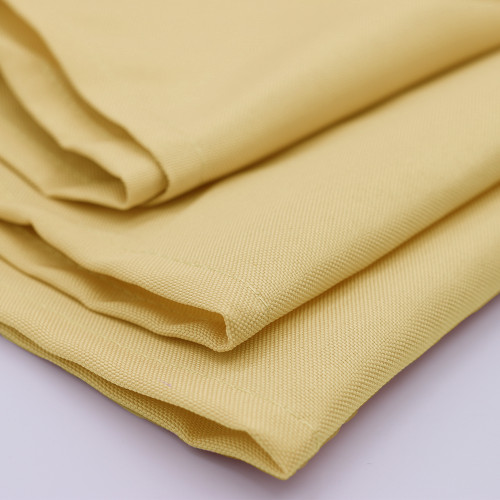 Polyester Pastel Yellow (Pack of 10)