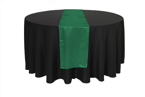 Table Runner Hunter Green