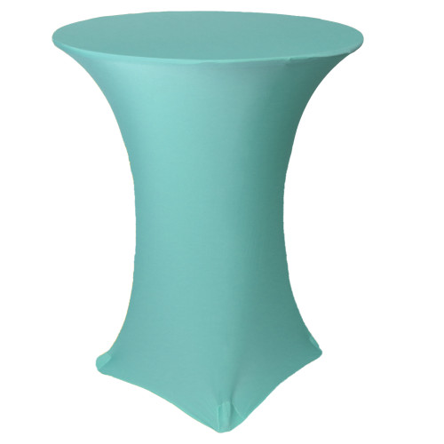36 inch Highboy Cocktail Round Stretch Spandex Table Cover Tiffany