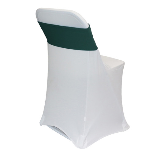 Spandex Chair Bands Hunter Green