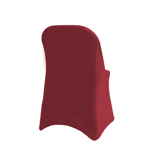 Spandex Folding Chair Cover Burgundy, Wholesale